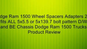 2001 dodge ram 1500 lug pattern 4 dodge ram 1500 wheel spacers adapters 2 inch fits all 5x5