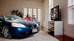 Inside Of House by Family Lets Cars Come Inside House During Snowstorm The Onion