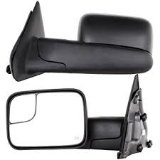 towing mirrors for dodge ram 3500 amazon com towing mirrors for 02 08 dodge ram 1500 03 09 dodge