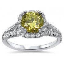 yellow engagement rings buy canary yellow diamond engagement rings online shop now and save