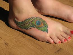 feather on foot tattoo feather tattoos designs ideas and meaning tattoos for you