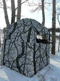 Pop Up Ground Blind Choosing And Using Tree Stands And Hunting Blinds Big Game Hunt