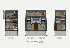 attica executive 3d floor plans