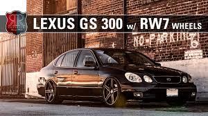lexus gs300 rims roderick wheels rw7 lexus gs300 youtube