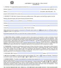 charleston real estate agreement to purchase form free