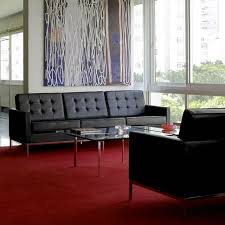 Florence Knoll Sofa Replica by Florence Knoll Sofa 3 Seater Florence Knoll Lounge Sofa Replica