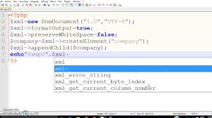 how to write xml data xml file with the help of php youtube