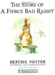 rabbit by beatrix potter the story of a fierce bad rabbit by beatrix potter abebooks