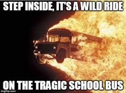 School Bus Meme - song lyrics were creepy step inside it s a wild ride on the