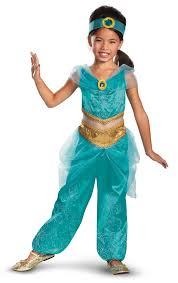 jasmine halloween costume party city disney jasmine deluxe sparkle toddler child costume from