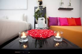 Flower Decoration For Bedroom Bedroom Engaging Romantic Bedrooms With Candles And Flowers