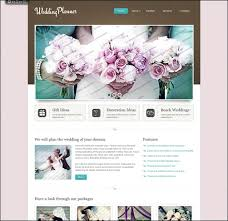 wedding planner websites 65 wedding themes and html templates streetsmash