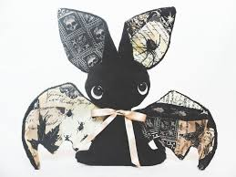 bat plushie halloween special for sale by tiny tea party on