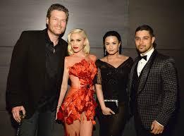 Vanity Fair Canada Blake Shelton Gwen Stefani Demi Lovato U0026 Wilmer Valderrama From