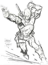 deadpool concept for pencils by dogsoldierr on deviantart