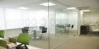 office partitions london glass partition walls gxi group