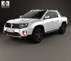 renault duster 2015 renault duster oroch concept 2015 3d model hum3d