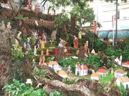 christmas 2005 crib on the streets of funchal city madeira portugal