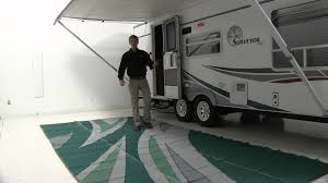 Rv Patio Rugs by Review Of The Faulkner 8x20 Summer Waves Rv Mat Etrailer Com
