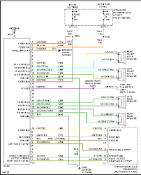 i would like the audio wiring colors for a 2005 dodge ram chrome