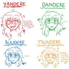 Challenge Que Significa Que Significa Dandere Kuundere Tsundere Y Yandere