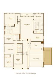3 car garage floor plans new home plan fair in wylie tx 75098