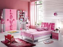 Girls Pink Rug Modern Girls Bedroom Sets Equipped Pink Bed Using Best Material