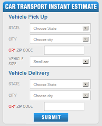 Auto Transport Cost Estimate by Auto Transport Calculator Calculate Your Car Transport
