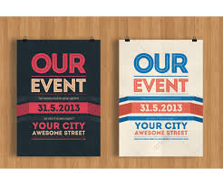 event poster templates free download free powerpoint design
