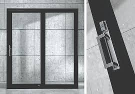 Contemporary Patio Doors Put The Finishing Touch On A Contemporary Aesthetic With New