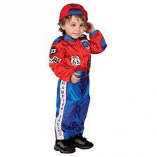 Halloween Costume Race Car Driver Aeromax Boys Red Race Car Driver Suit Halloween Costume 18m