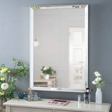 Kirklands Bathroom Mirrors by Monet Frameless Mirror 27x39 In Kirklands