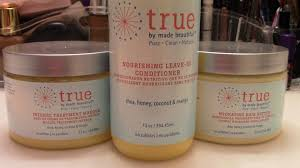true hair products by made beautiful clean