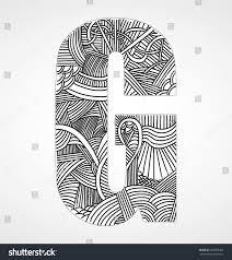 letter g doodle alphabet stock vector 226899460 shutterstock