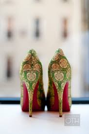 wedding shoes india green heels with bottoms even with the