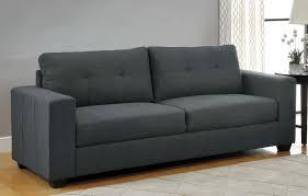 1 166 00 ashmont modern 2pc sofa set in dark grey linen sofa and