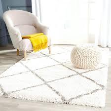 beautiful fluffy white area rug 30 photos home improvement