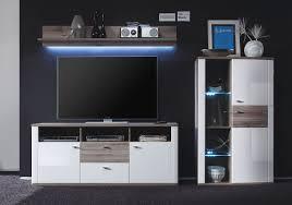 Wohnzimmer M El Sonoma Eiche Schrankwände Modern Dekoration Und Interior Design Als