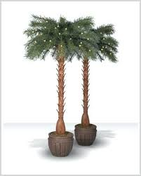 artificial outdoor palm trees sale lighted garden image for