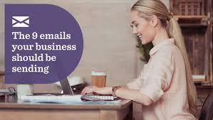 Business Email Messages Should by The 9 Emails Your Business Should Be Sending Verticalresponse Blog