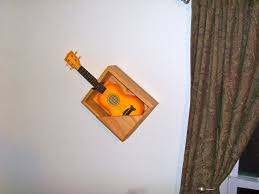 Wooden Wall Mounted Bookshelves by Buy A Handmade Wooden Wall Mounted Shelf For Guitar Made To Order
