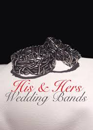 Crown Wedding Rings by Crown Of Thorns His And Hers Wedding Rings Religious Rings