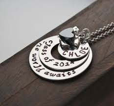 graduation gift jewelry graduation necklace personalized graduation gift 2014 sted