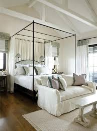 Curtains For Canopy Bed Frame Making A Statement In The Bedroom The Modern Canopy Bed Design