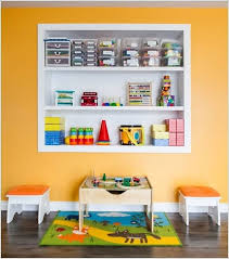 kids room storage ideas white laminated ceramics floor tile white
