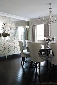 mirrors in dining room photo delightful black dining table with leaf exquisite wall