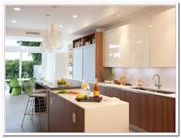 Lacquer Kitchen Cabinets by White Colored Kitchen And Granite Countertop Selection Home And