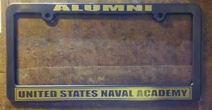 usmc alumni usna alumni custom license plate frame usn usmc annapolis navy ebay