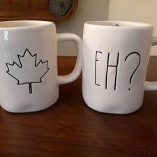 rae dunn find more rae dunn canadian set of mugs for sale at up to 90 off