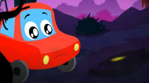 little red car halloween is back scary song for kids youtube